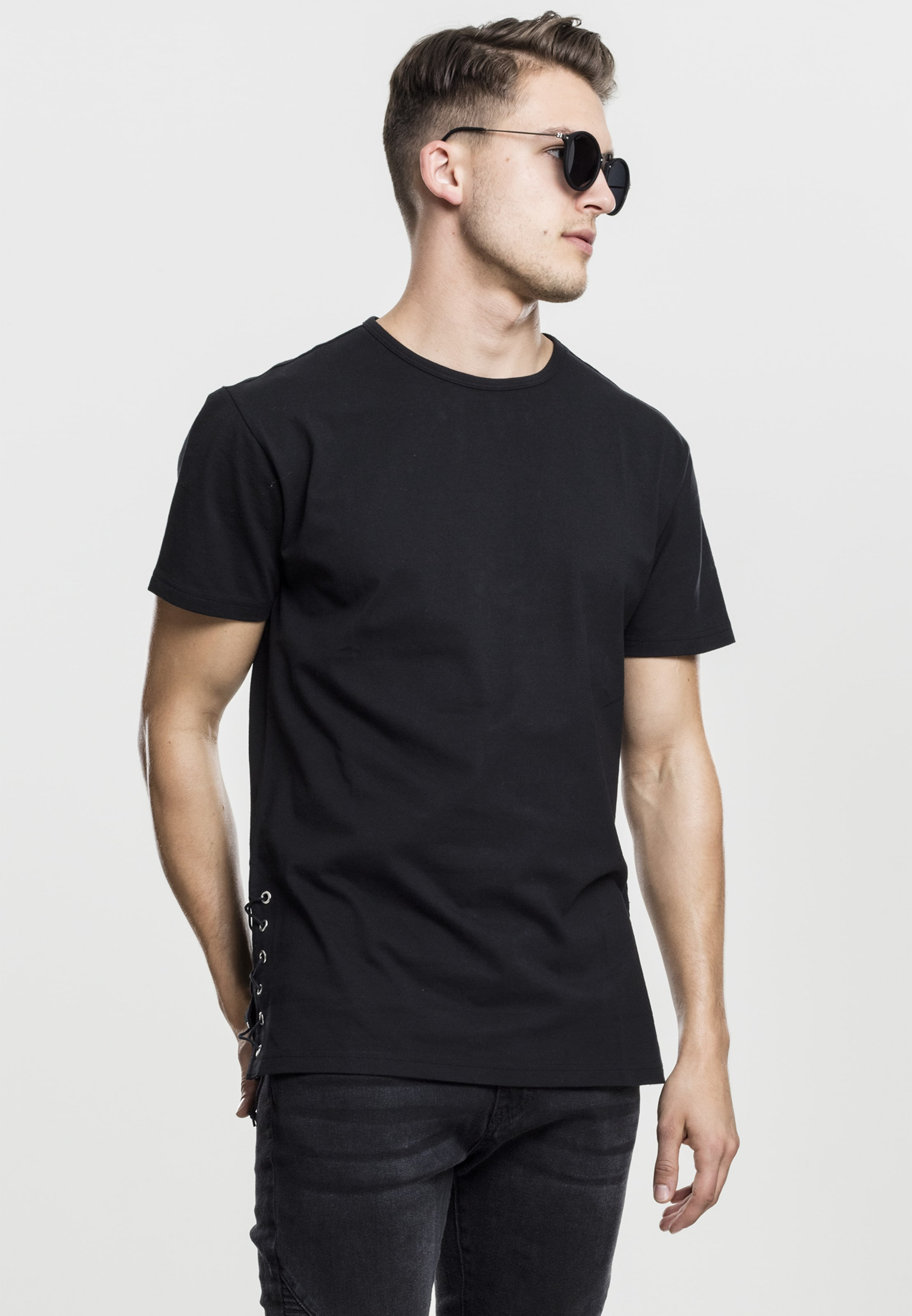 Urban Classics Schwarz Long Tee In f7vY6Ibgy