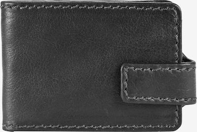 Harold's Geldbörse 'Saddle' in schwarz, Produktansicht
