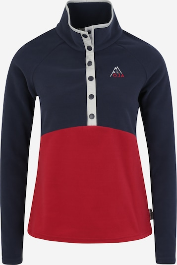 Maloja Koszulka funkcyjna 'AlbulaM' w kolorze ciemny niebieski / czerwony / białym, Podgląd produktu