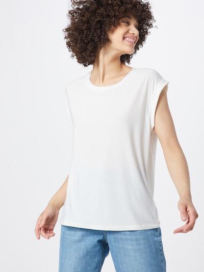 SISTERS POINT Majica 'LOW-A' u bijela: Prednji pogled