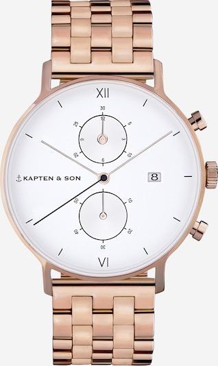 Analoginis (įprastinio dizaino) laikrodis iš Kapten & Son , spalva - bronzinė, Prekių apžvalga
