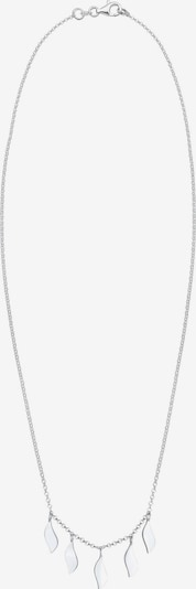 ELLI Ketting 'Boho' in de kleur Zilver: Vooraanzicht