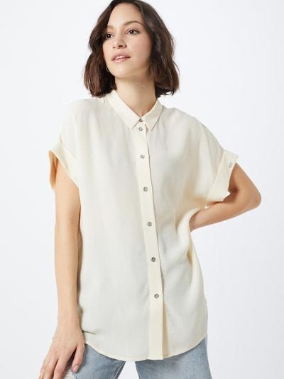 Calvin Klein Bluse in beige, Modelansicht