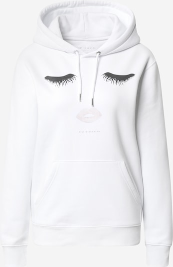 EINSTEIN & NEWTON Sweatshirt 'Hilde' in de kleur Zwart / Wit, Productweergave