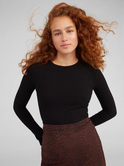 Marškinėliai 'Ginger' iš EDITED , spalva - juoda: Vaizdas iš priekio