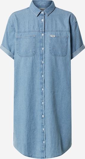 WRANGLER Blusenkleid in blue denim, Produktansicht