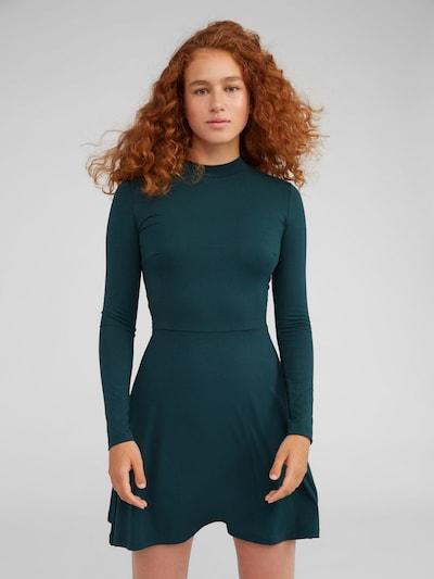 EDITED Jurk 'Inesa' in de kleur Groen: Vooraanzicht