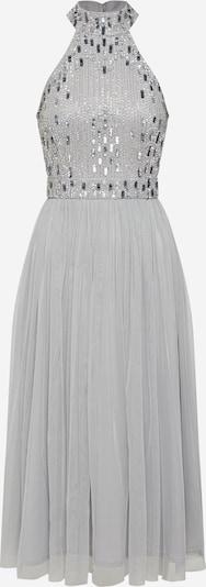 LACE & BEADS Kleid 'Cecilia Midi' in grau, Produktansicht