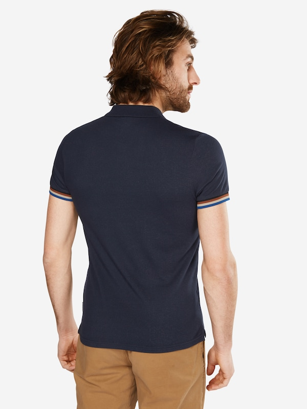 Ben Sherman Poloshirt 'The Sharp Fabric Mix'