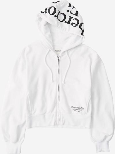 Abercrombie & Fitch Sweatjacke in weiß, Produktansicht
