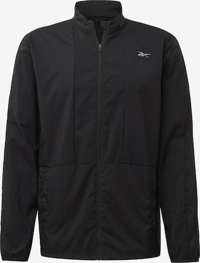 REEBOK Laufjacke in schwarz, Produktansicht