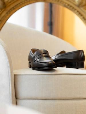 Pánske topánky z čiernej kože