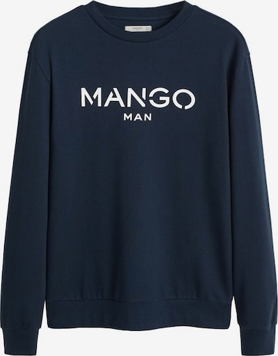 MANGO MAN Sweatshirt 'New H' in navy, Produktansicht