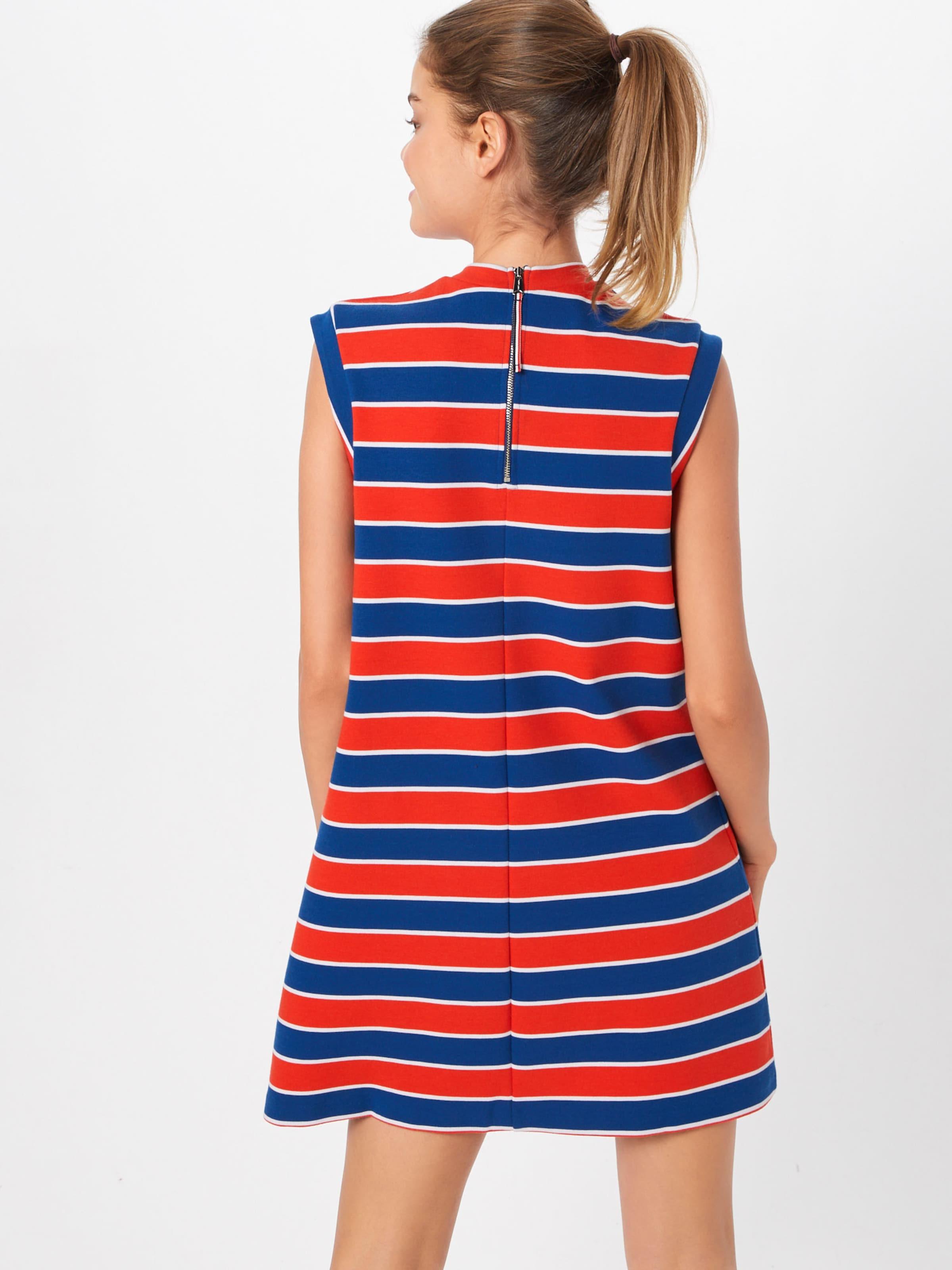 BlauRot A Kleid 'tjw In line' Tommy Jeans W9YIDHE2
