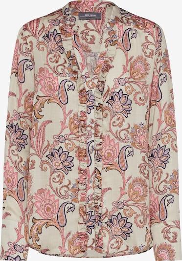 Palaidinė 'Damia Weave Shirt' iš MOS MOSH , spalva - smėlio / mišrios spalvos / rožinė: Vaizdas iš priekio