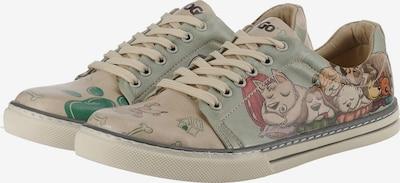 DOGO Sleeping Dogs Sneakers Low in hellblau / perlweiß, Produktansicht