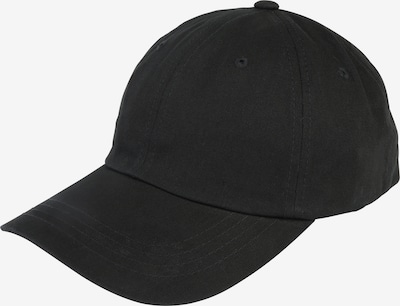 Flexfit Cap 'Low Profile Cotton Twill ' in schwarz: Frontalansicht