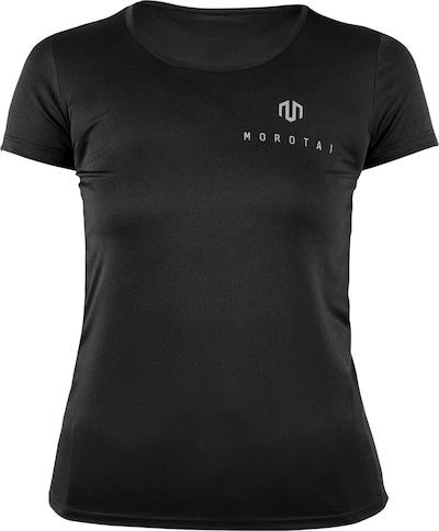 MOROTAI T-Shirt 'Light Tee' in grau / schwarz, Produktansicht