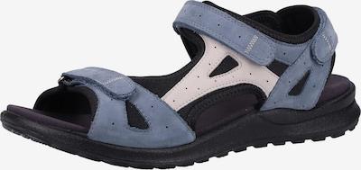 Legero Sandalen in blau / grau, Produktansicht