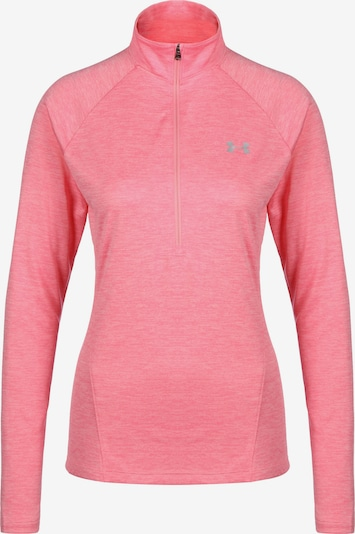 UNDER ARMOUR Trainingsshirt  'HeatGear Tech Twist 1/2 Zip' in hellpink, Produktansicht