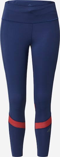 ADIDAS PERFORMANCE Sportbroek in de kleur Navy / Rood, Productweergave