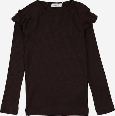 NAME IT Shirt 'KABEX' in dunkelbraun, Produktansicht