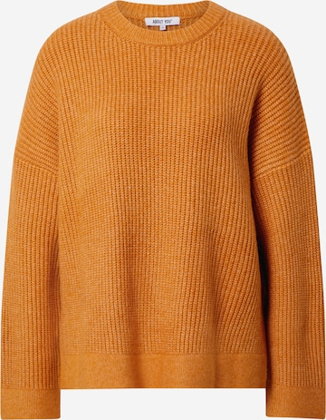 ABOUT YOU Sweater 'Suzi' in Yellow