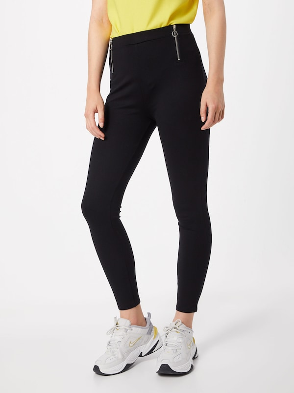 ABOUT YOU Hose 'Florence Leggings' in schwarz: Frontalansicht