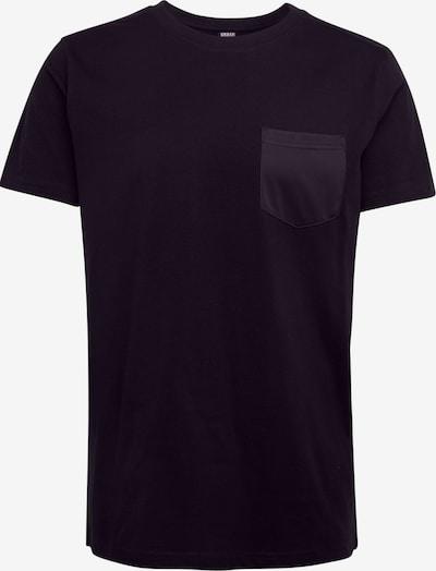 Urban Classics Majica | črna barva: Frontalni pogled