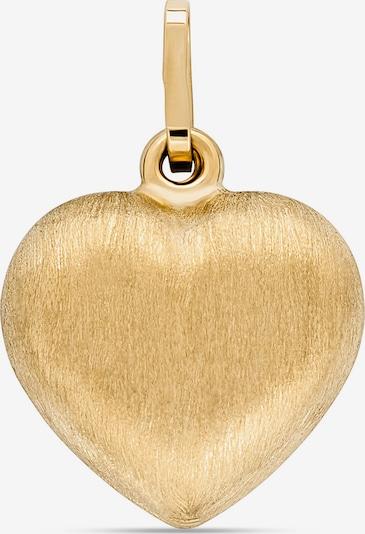 FAVS Anhänger 'Herz' in gold, Produktansicht