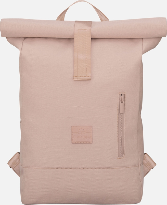 Johnny Urban Rucksack 'Rolltop Robin' in rosé | ABOUT YOU