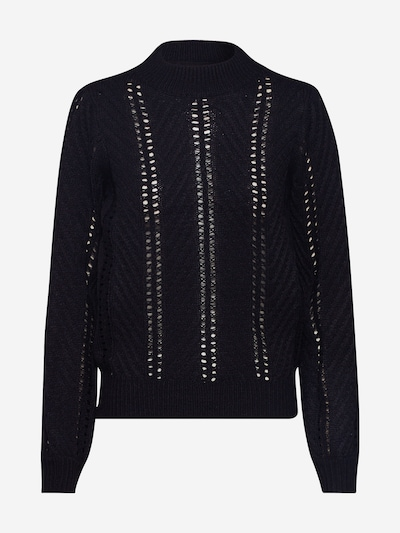 JACQUELINE de YONG Pullover 'JDYMOJO' in schwarz: Frontalansicht