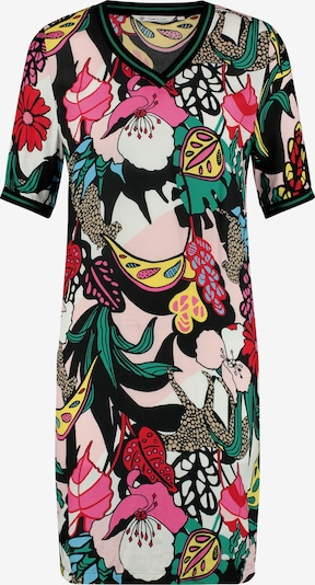 Loom&Lace Kleid in grün / pink / schwarz / weiß, Produktansicht