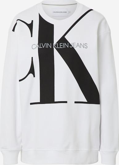 Calvin Klein Jeans Majica | črna / bela barva, Prikaz izdelka