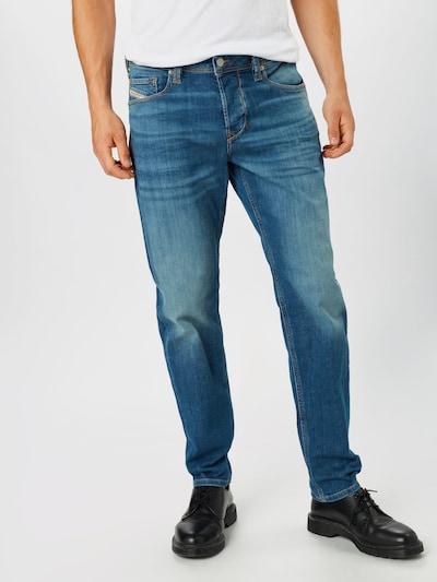 Jeans 'Larkee-Beex' DIESEL pe denim albastru: Privire frontală