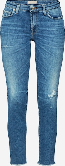 7 for all mankind Jean 'PYPER CROP LUXE VINTAGE CAPITOLA' en bleu denim, Vue avec produit