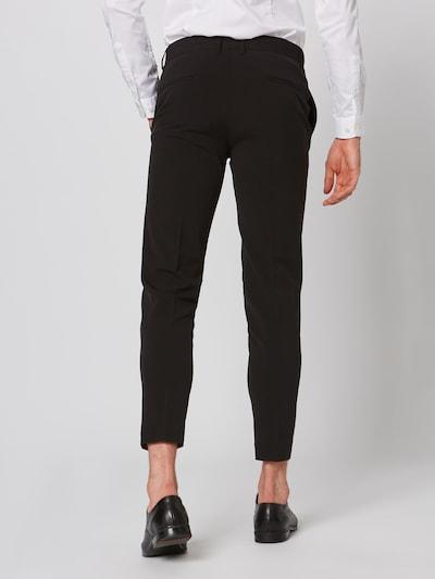 Lindbergh Hose 'Club pants' in schwarz: Rückansicht