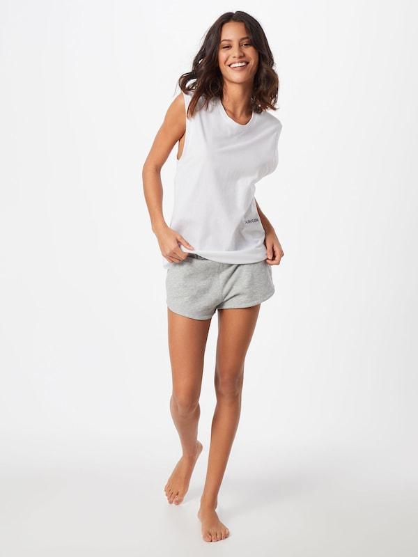 Underwear Chemise 'muscle Tank 2pk' En Calvin Blanc Nuit Klein De eCrBodx