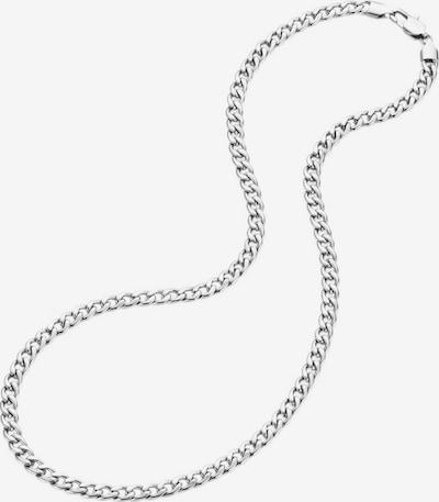 FIRETTI Halskette in Panzerkettengliederung in silber, Produktansicht