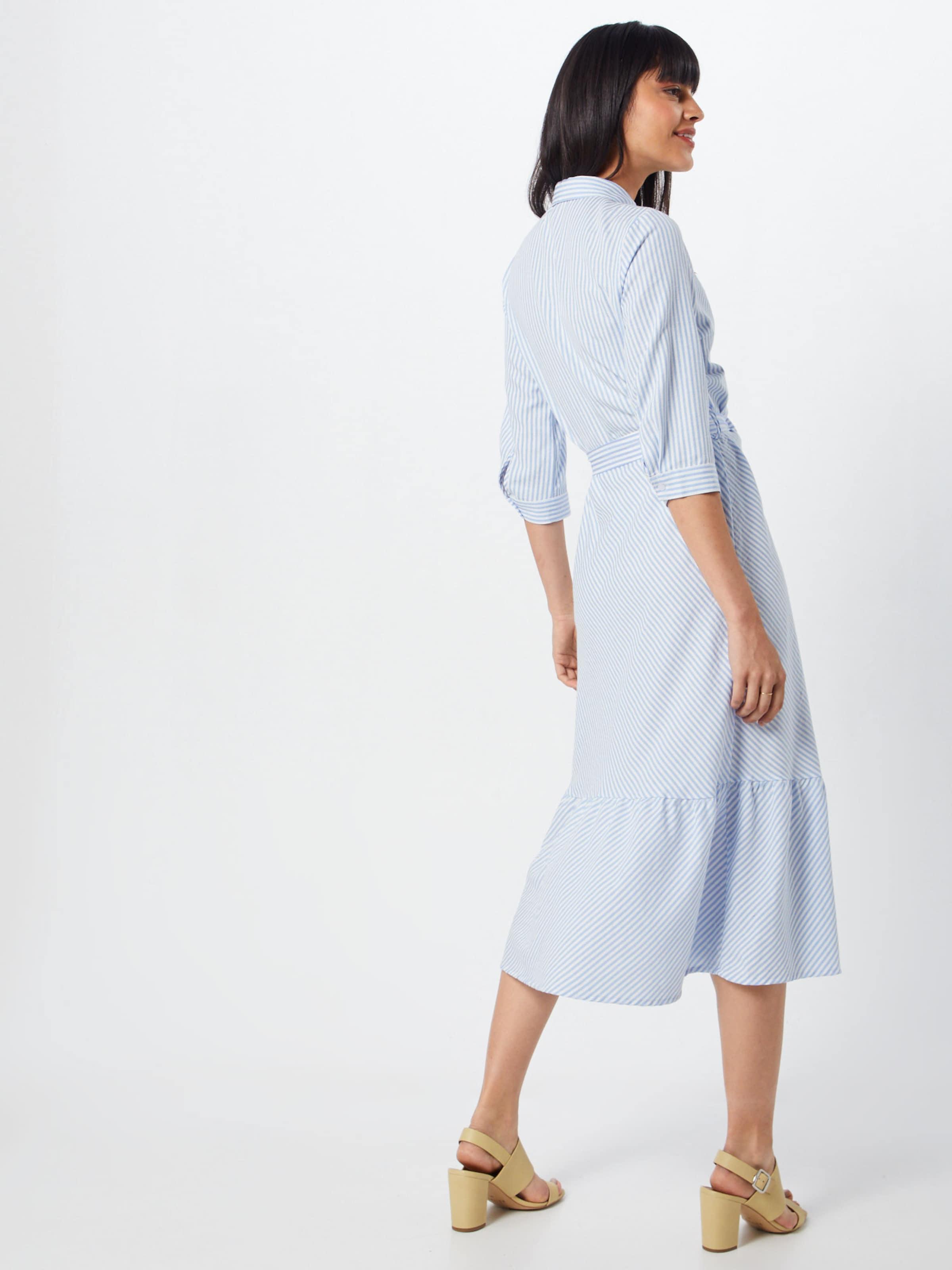 neueste trends von 2019 neueste großer Rabatt S oliver HellblauWeiß Red Label Blusenkleid In shtQrdC