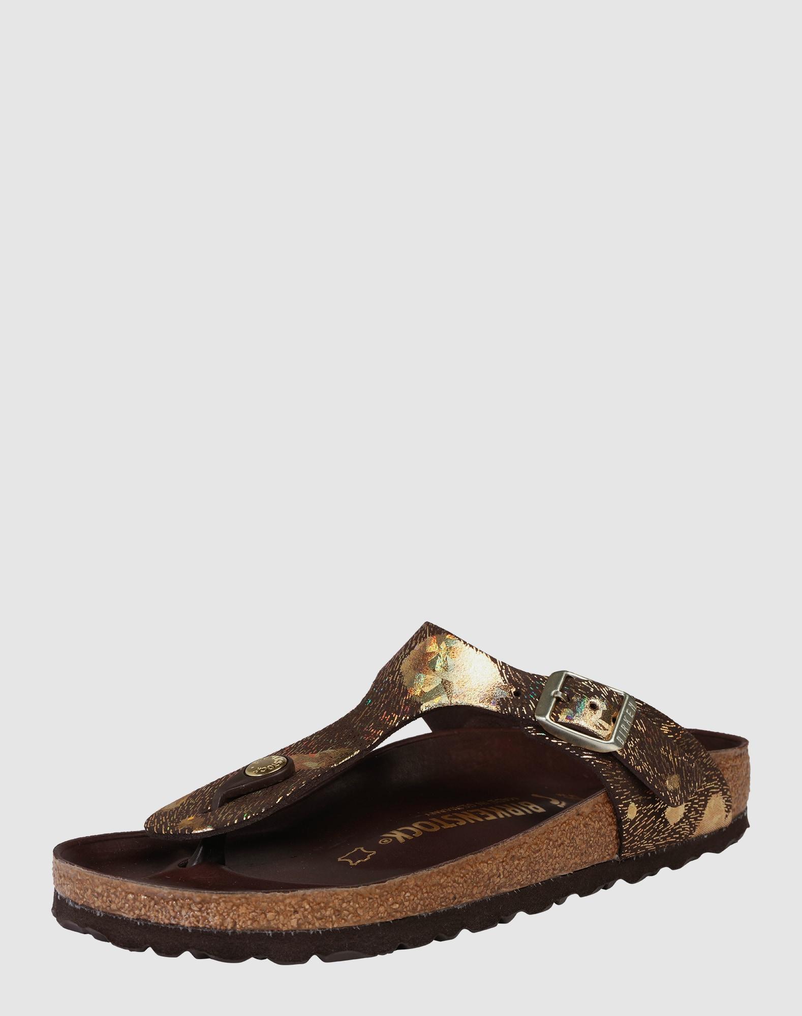 birkenstock sandale 39 gizeh 39 in braun about you. Black Bedroom Furniture Sets. Home Design Ideas