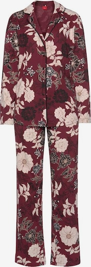 Pižama iš s.Oliver , spalva - smėlio / vyšninė spalva / juoda, Prekių apžvalga