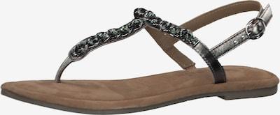 TAMARIS Sandale in dunkelgrau, Produktansicht