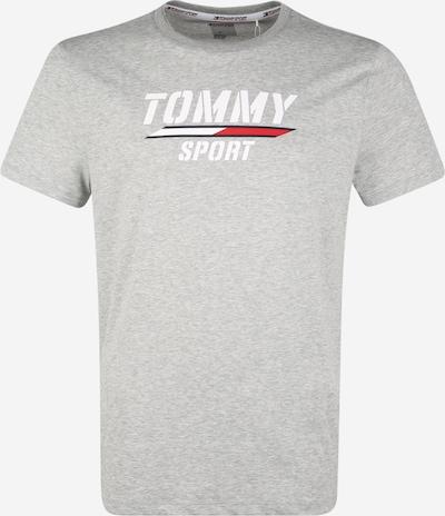 Tommy Sport Shirt in hellgrau / weiß, Produktansicht