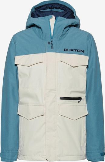 BURTON Jacke 'Covert' in rauchblau / weiß, Produktansicht