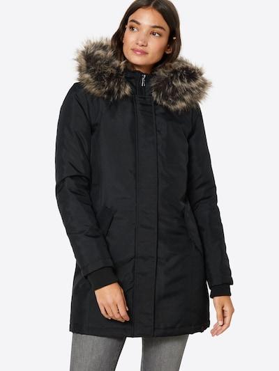 Ilga rudeninė-žieminė striukė 'onlKATY' iš ONLY , spalva - juoda, Modelio vaizdas