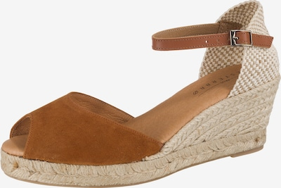 Paul Vesterbro Sandaletten in beige / braun, Produktansicht