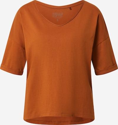 ESPRIT T-Shirt in rostbraun, Produktansicht