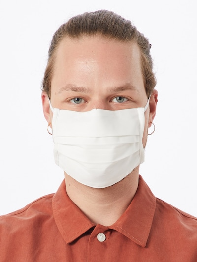 ODLO Stoffmasken '10er Pack' in weiß: Frontalansicht