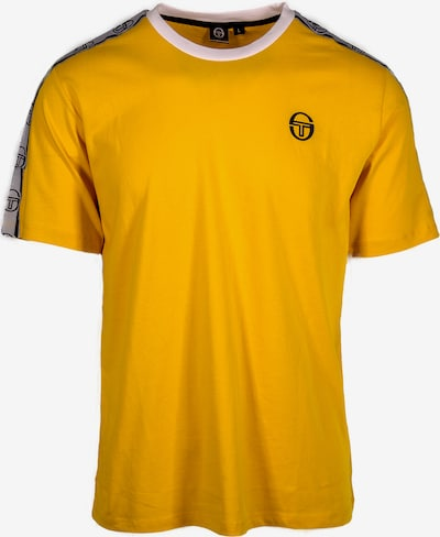 Sergio Tacchini T-Shirt 'Dahoma' in gelb / schwarz / weiß, Produktansicht